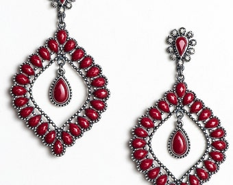 Dazzling earring stones