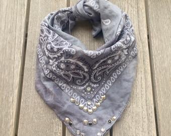 Vintage bandana scarf