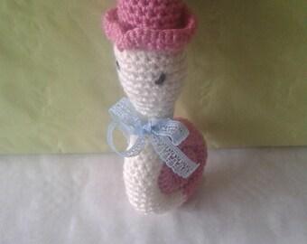 Plush Stuffed snail crochet