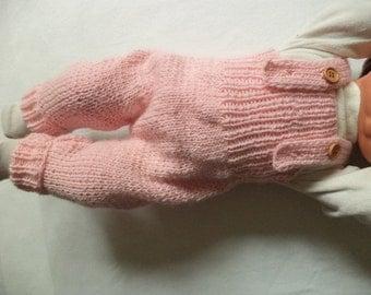 Wool bib 62/68-74/80 organic Merino Wool k.b.T. baby pants rompers