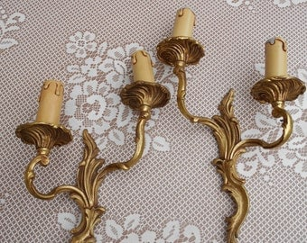 Pair French Vintage Sconce Wall light/Sconce *