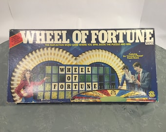 Wheel of Fortune board game.