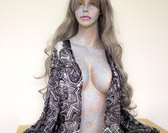 Jackson Pollock Inspired Woman Art Model Mannequin Sculpture