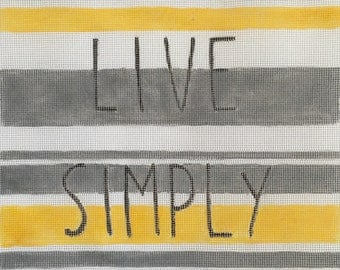 Live Simply Needlepoint Kit
