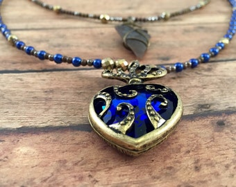 Necklace - Royalty Blue