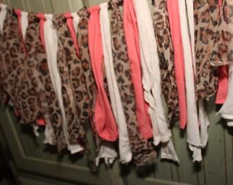 Leopard Print Cloth Banner