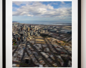 Melbourne from the air