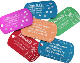 Custom Dog & Cat Tags