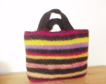 Knit felted bag nur15Euro!