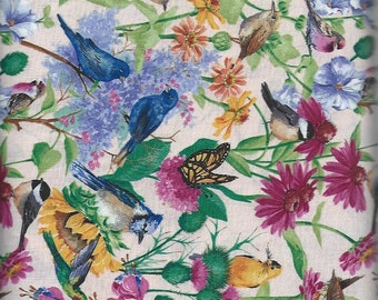 Birds of the Air pack, Springs fabric