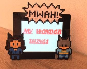 Marco Batman & Catwoman Perler beads/Hama beads