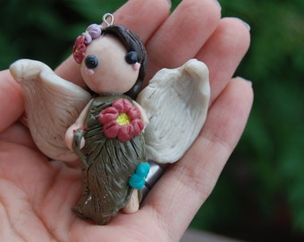 Clay Nature Angel