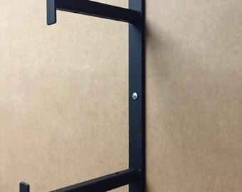 Medium - Heavy Duty Industrial Double Bracket, Two Floors Bracket, Bracket With 2 Levels
