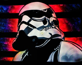 Storm Trooper spray paint, Storm Trooper wall art, Storm trooper Poster, Storm Trooper Painting, Storm trooper Stencil, Stormtrooper, Kuru.