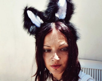 Fox Fur Bunny Rabbit Ears