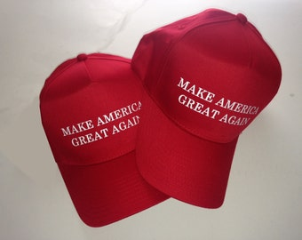 Make America Great Again cap Donald Trump Republican Adjustable Snapback.