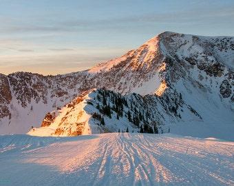 Mountain Morning — Sunrise at Snowbird, UT