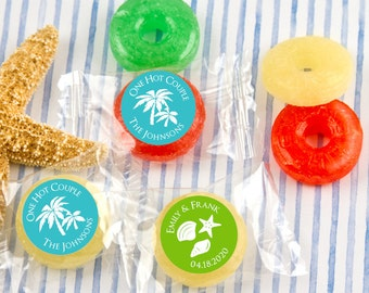 Wedding Favor Candy, Personalized Life Savers Candy, Personalized Candies - Set of 100