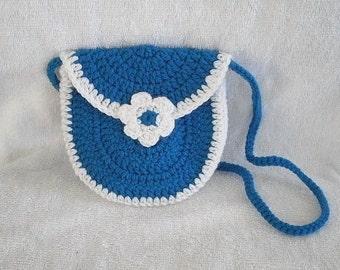 LITTLE GIRLS PURSE Crochet girls purse