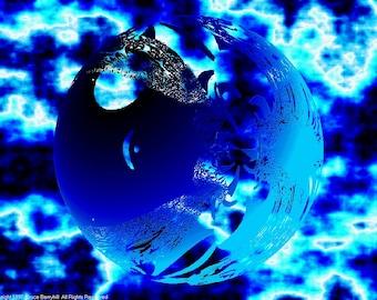 FRACTAL #7247 (Trippy ChromaDepth 3D Digital Download. 1024x768)