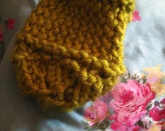 Hand knitted mug cosy