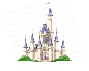 Castle // Disney // Turret // Palace // Flags // Queen // Tower // Princess // Royal // Dragon // Red // Kingdom // Clipart // Clip Art