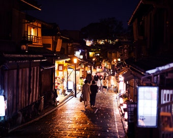 "Photography ""on the path of Kiyomizu-Dera"" Format A4 20x30cms - Kyoto, Japan"