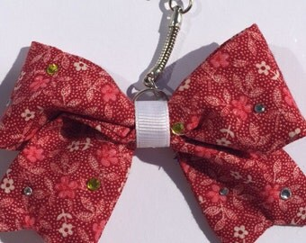 Sparkle and Shine Keychain Bow