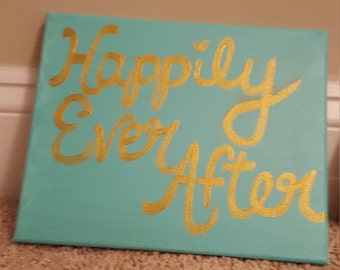 Happily Ever After painting