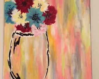 Streaked Flowers