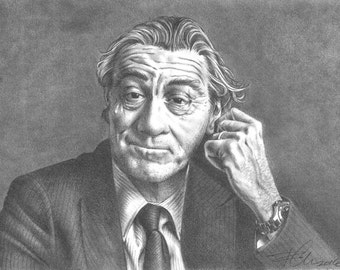 "Custom, hand drawn portrait (6"" x 8"")"
