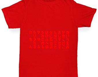 Boy's Hiragana Table T-Shirt