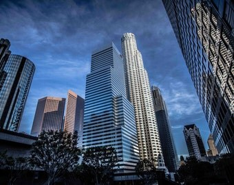 Library Tower and Citibank Tower, Downtown Los Angeles