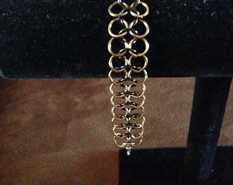 4-in-1 Chainmaille Bracelet, Chainmaille Jewelry, Chain Link Bracelet, Gifts for Her