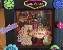 Travel memory box 3D deep box frame shadow box