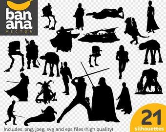 SALE Star Wars 2 png jpg svg eps files high resolution BV-FA-0069