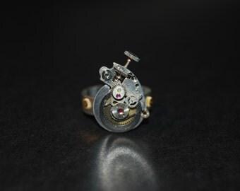 Handmade Steampunk Paisley ring