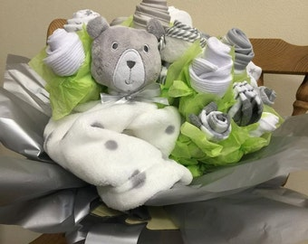 Baby Sock Bouquets