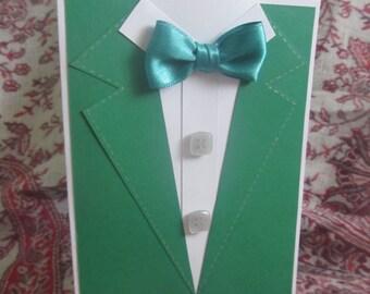 Handmade card for men