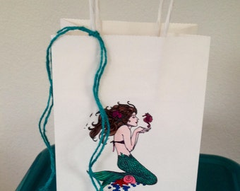 Mermaid Favor Bags
