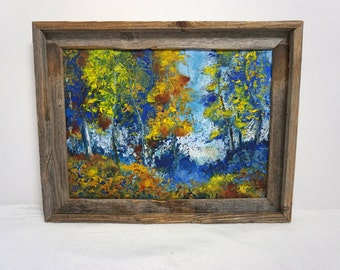 Mixed Media Original Oil Painting