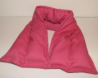 pink hot/cold rice bag