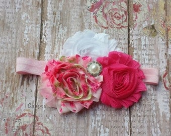 Shabby Chiffon Infant Toddler Headband