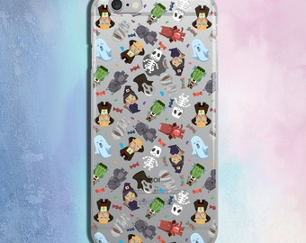 iPhone 7 Case Halloween iPhone 7 Plus Case iPhone 6s Case iPhone 5c iPhone 6s plus Case Unique iPhone 7 Plus Cover Funny Halloween Theme