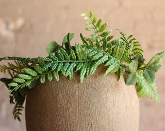 Little Girl Fern Flower Crown