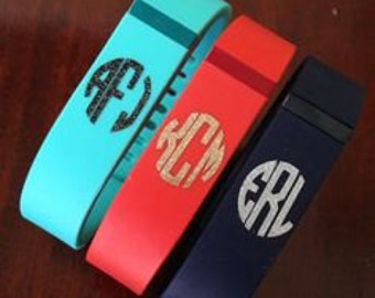 Fitbit Flex or Charge Monogram