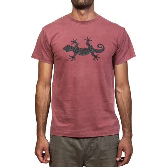 Stonewashed T-Shirt - Lizard