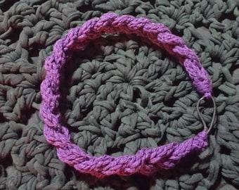 Knitted Braided headband