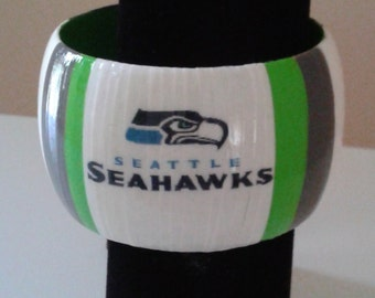 Seattle Seahawks Bangle Bracelet