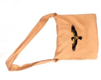 Black Raven Steam Punk Messenger Bag